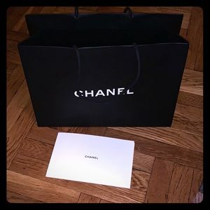 Chanel collectible bag and envelope with booklet
